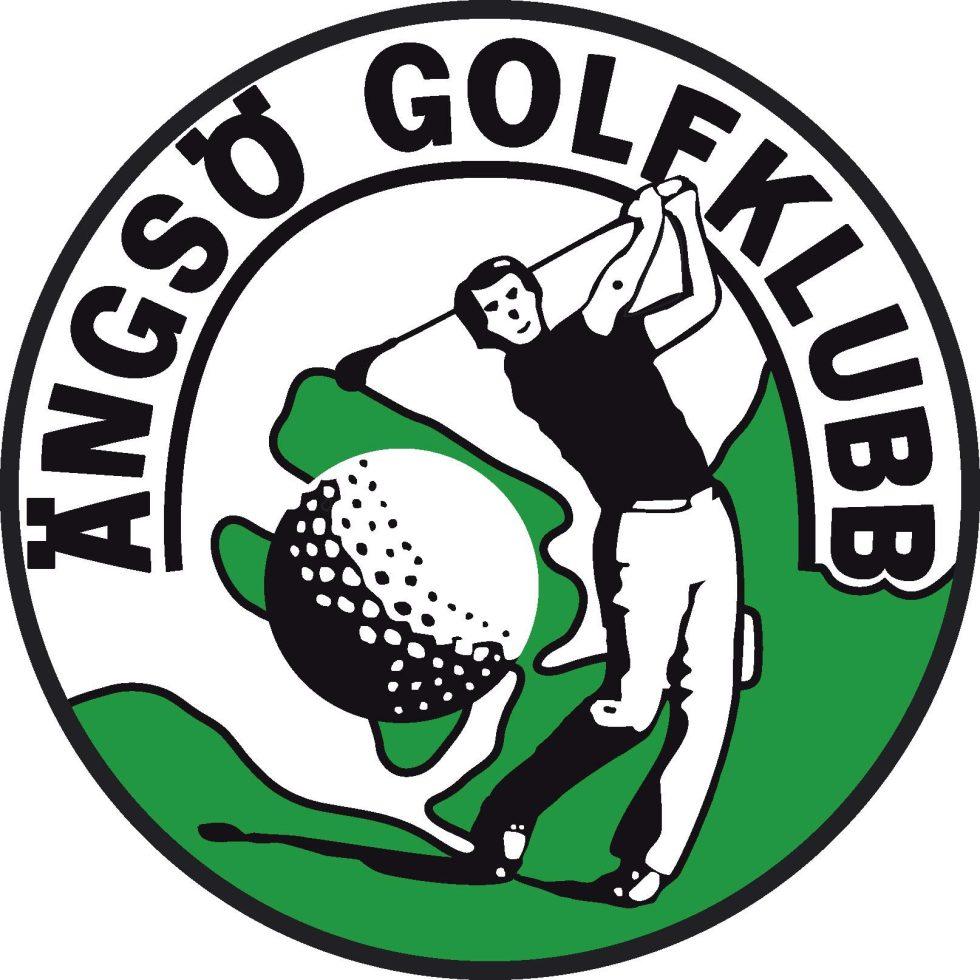 logotipo de ängsögolfklubb