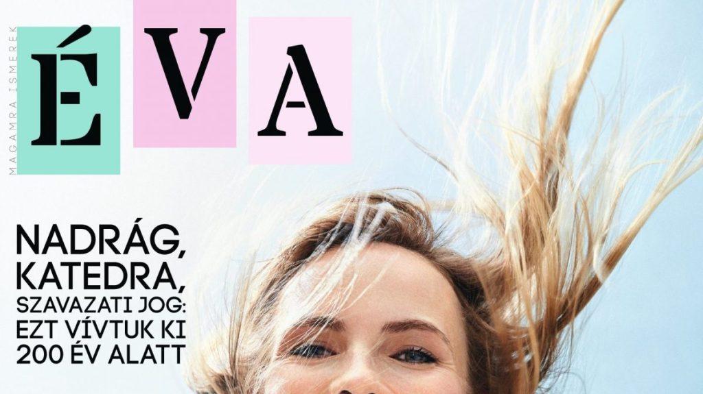 Az ÉVA Magazin borítója