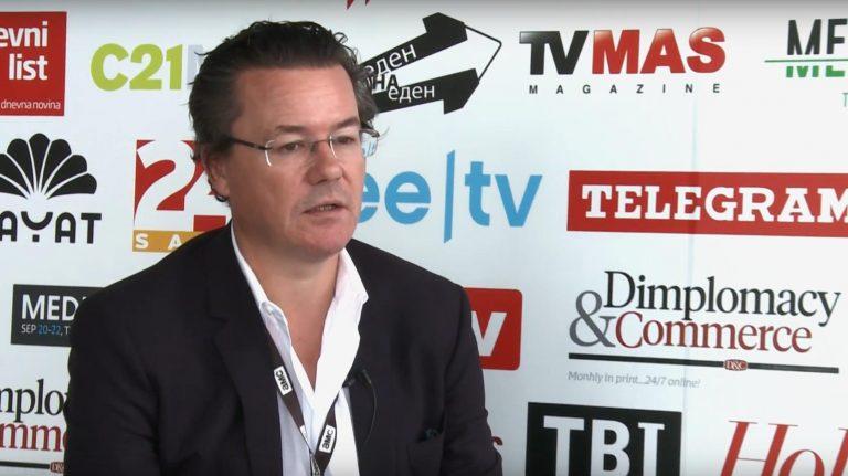 Dirk Gerkens interjút ad a New Europe Market riporterének