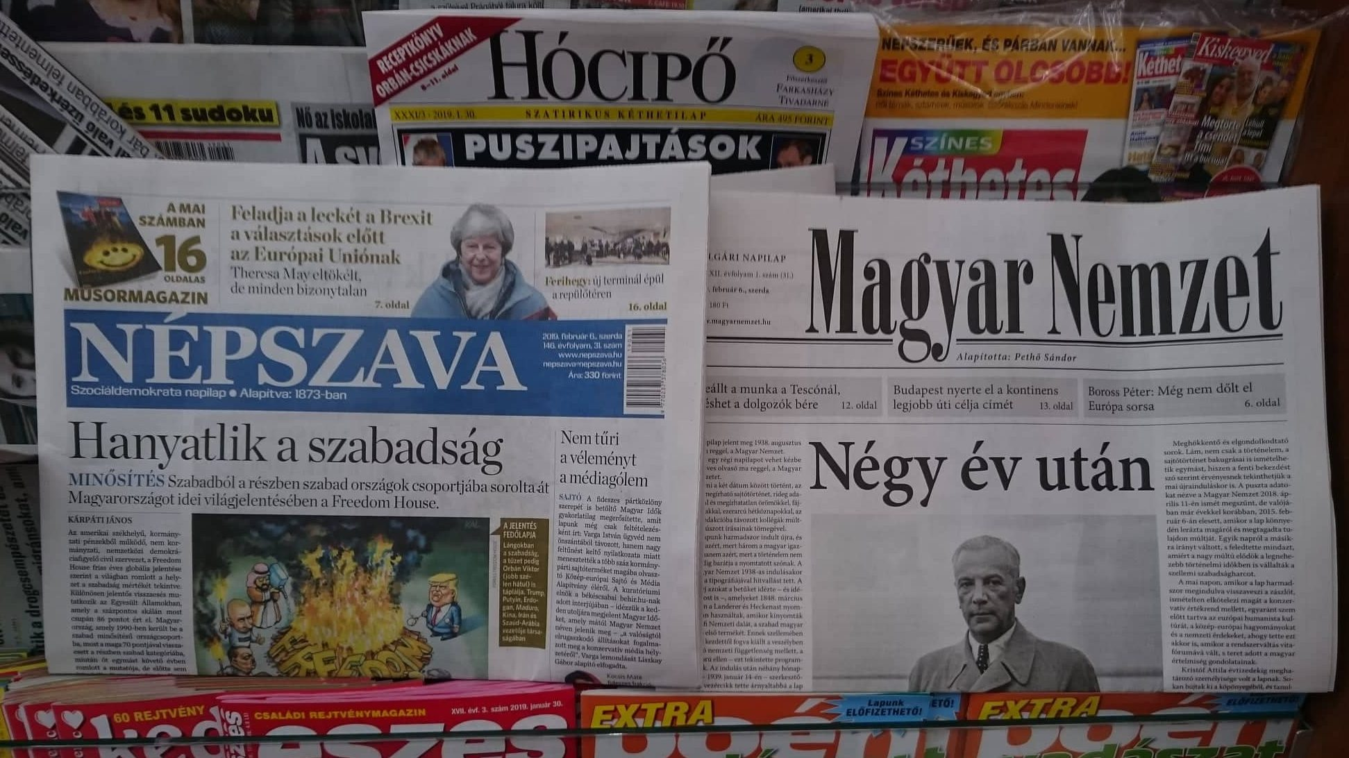 puszipajtások, hanyatlik a szabadság, négy év után. Fotó: Ladányi András, Media1