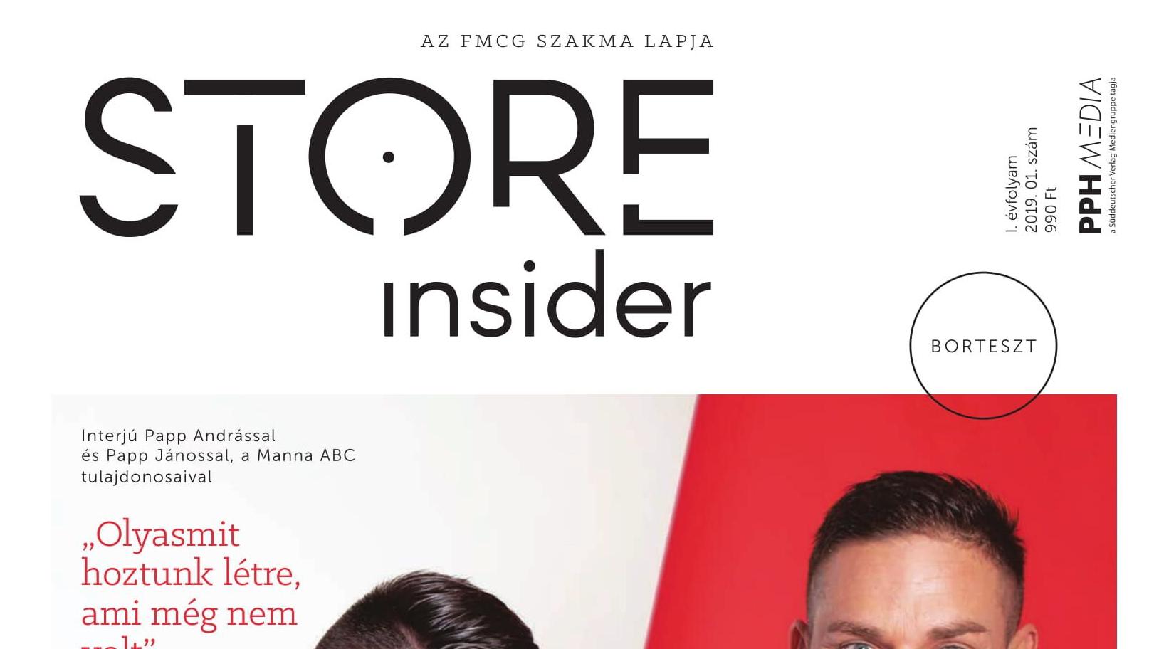 Store insider, az Élelmiszer magazin új neve