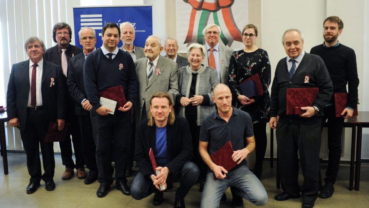 Sajtónap, díjazottak. Fotó: Pólya Dávid, muosz.hu. A fotót a MÚOSZ engedélyével tesszük közzé.