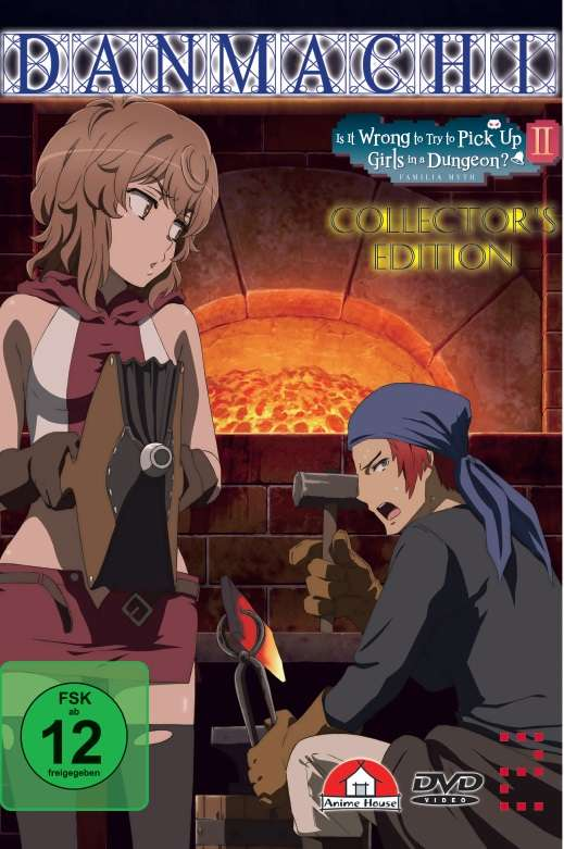 Is It Wrong To Try To Pick Up Girls In A Dungeon Season 2 - Danmachi Is It Wrong To Try To Pick Up Girls In A Dungeon Vol 2 Limited Collector S Edition Dvd Jpc