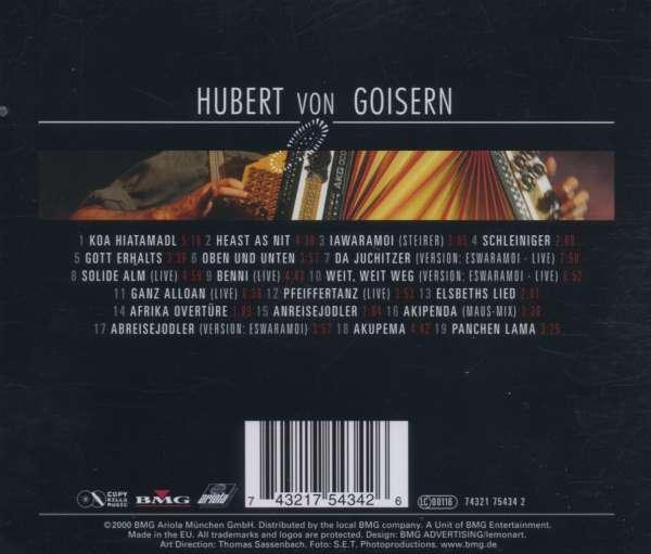 Hubert Von Goisern Eswaramoi 1992  1998 (cd) Jpc