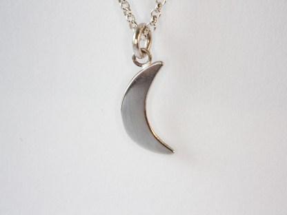 Silverhalsband Luna, handgjort
