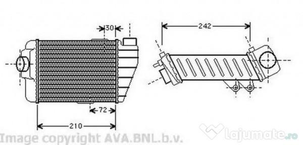Radiator clima DN5251 NISSAN MICRA III (K12) 160 SR 81kw