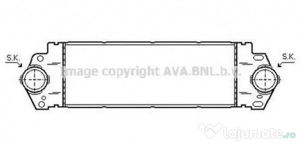 Radiator racire DNA2216 NISSAN ALMERA II (N16) 2.2 Di 81kw
