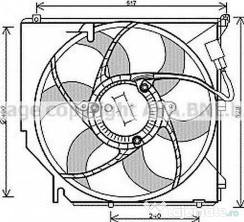 Radiator racire vwa2214 audi q7 (4l) 3.0 tfsi 245kw 2010