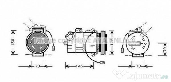 Radiator Intercooler MSA4582 MERCEDES-BENZ SPRINTER 5-t