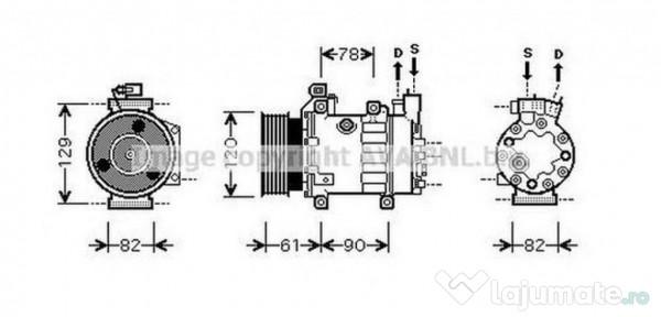 Radiator racire HY2204 HYUNDAI TUCSON (JM) 2.0 CRDi