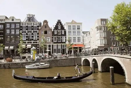 gondole amsterdam