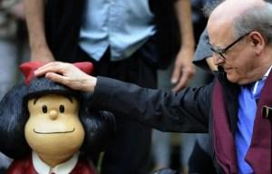 Quino, le créateur de Mafalda, nous a quittés