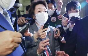 Hashimoto serait nommée présidente du comité organisateur des JO de Tokyo