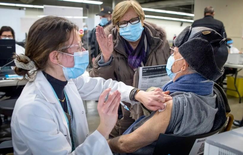Le vaccin contre la COVID-19 maintenant offert aux 70 ans et plus à Montréal et Laval