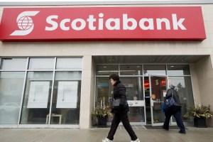 Gros profit pour la Banque Scotia