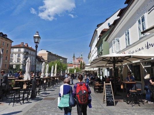 šetnja uz Ljubljanicu