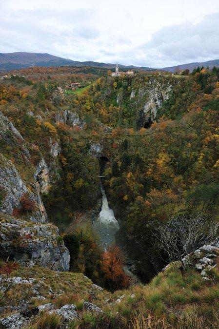 Škocjanske jame u jesen Source of photos: archives PŠJ Author of photos: Borut Lozej