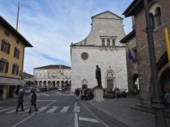 centar Cividale del Friuli iz drugog ugla