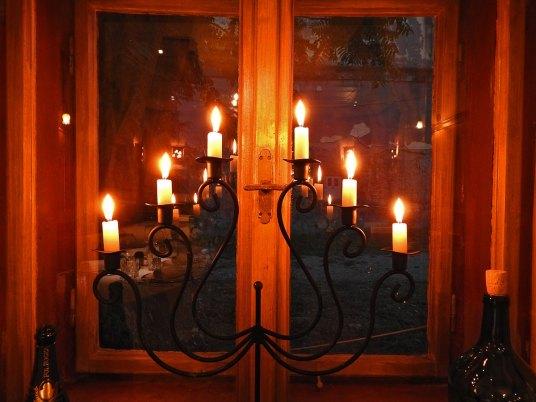 svećnjak od prošle posete
