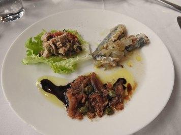 tuna, sardela i inćuni - mariniranu sardelu bolju nisam jela