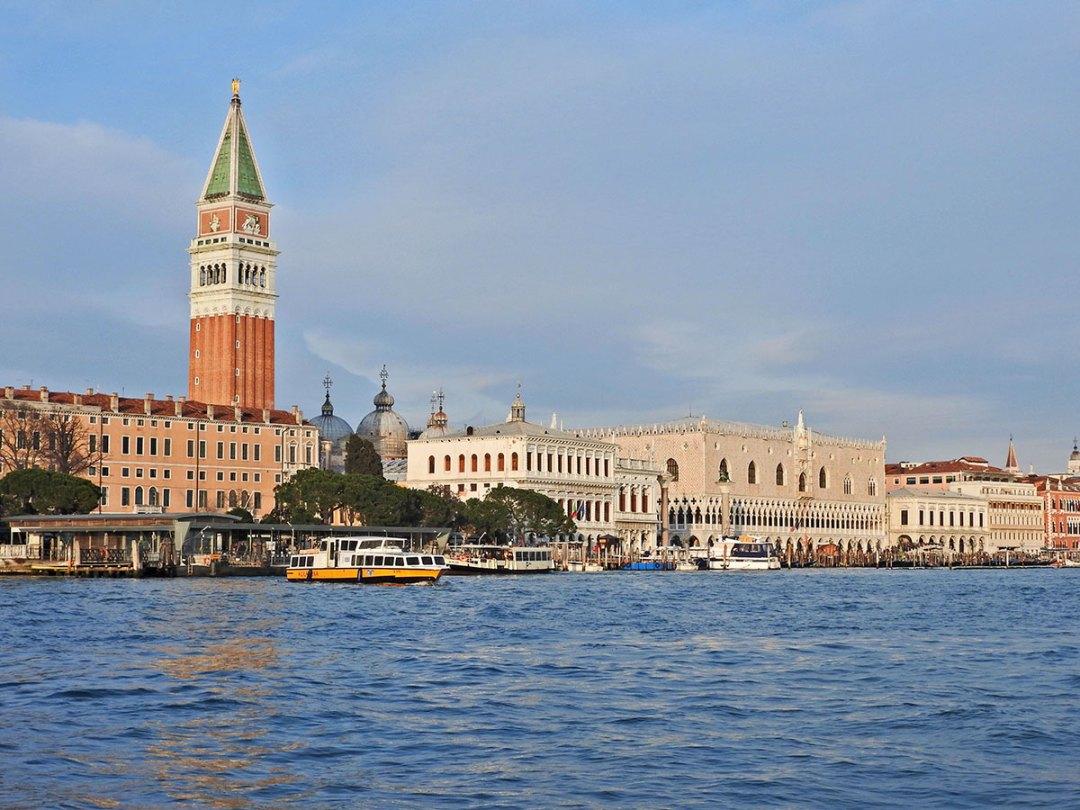 Venezia view from Dogana da Mar
