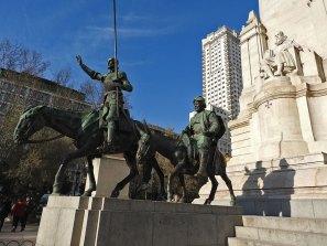 plaza-de-espana Don kihot i Sančo Panza