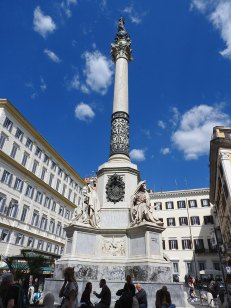 column kod španskog trga
