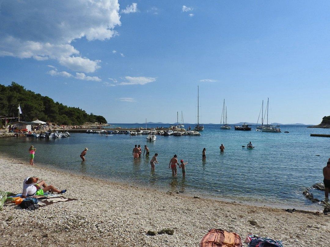 plaža Čigrađa Murter