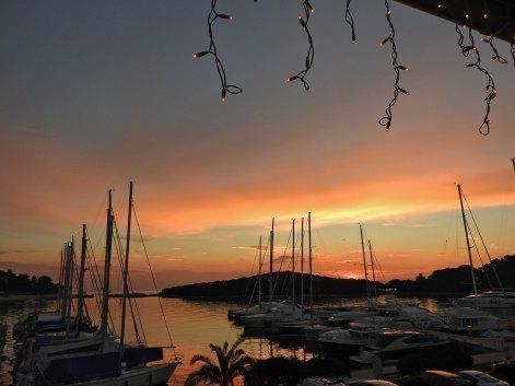 još jedan divan zalazak sunca marina Vrsar