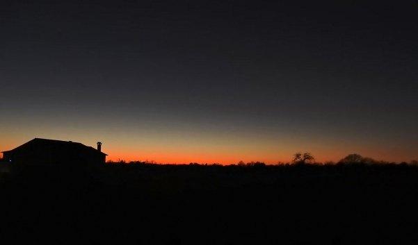 zalazak sunca u unutrašnjosti