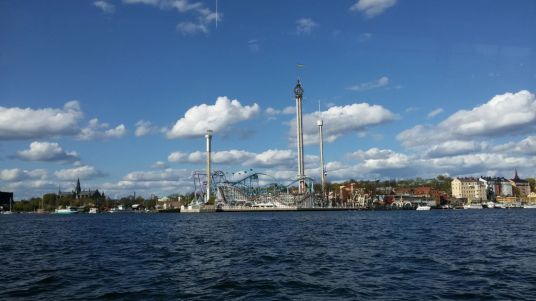 Stockholm amusment park Grona Lundship tour