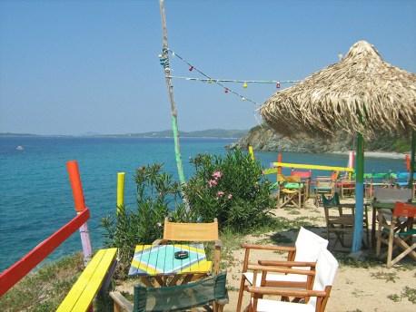 Ethnik beach bar Toroni Halkidiki