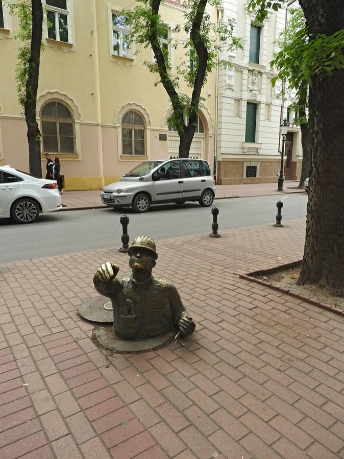 spomenik neznanom vodoinstalateru Subotica