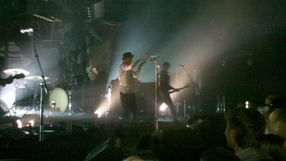 bilden är från någon av alla de konserter jag gått på med herr T