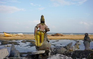 Shiva and the sea