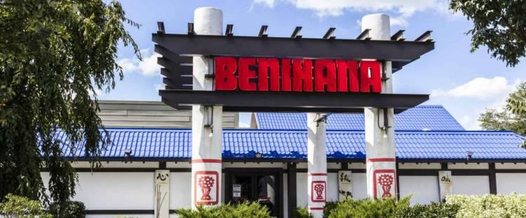 Indianapolis - Circa September 2016: Benihana Japanese Teppanyaki Restaurant. Benihana Offers Theatrically Prepared Food at Your Table II