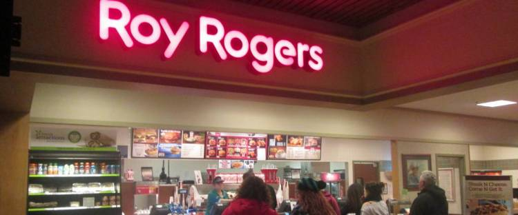 A Roy Rogers restaurant