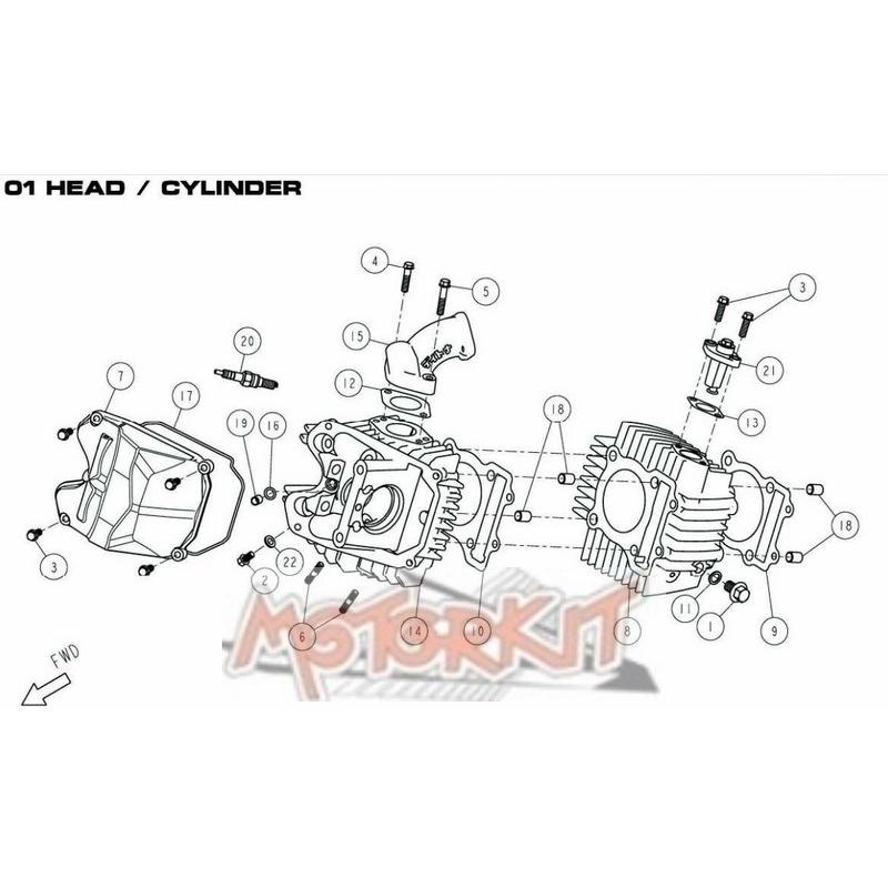Cylinder Base Gasket Daytona Anima price : 8,99 € Daytona