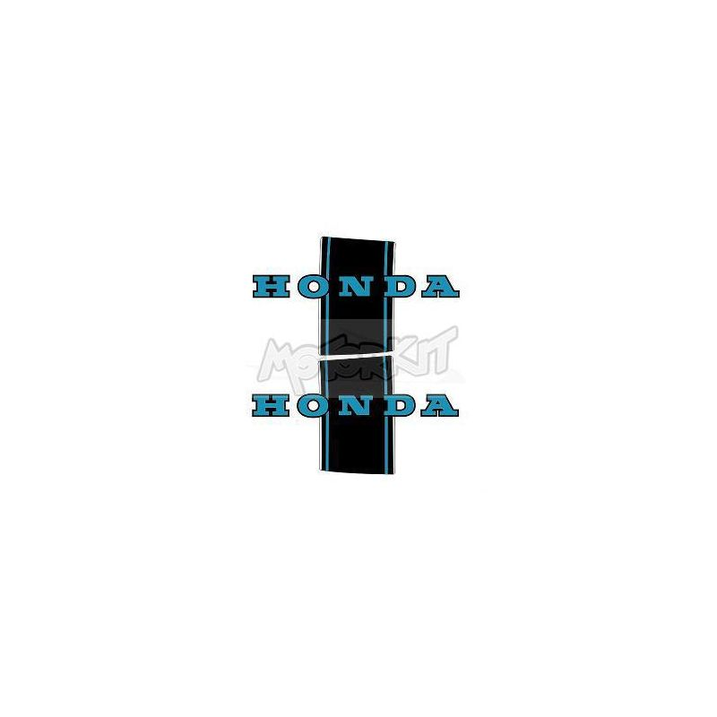 paire de stickers COPIE HONDA DAX noir/bleu price : 19,95