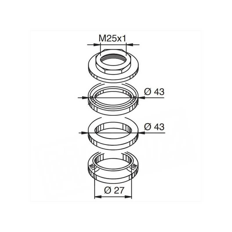 Motorkit: Steeringbearing 24mm for Chinese