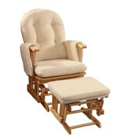 Glider Breastfeeding Rocking Chair with Ottoman | Buy ...
