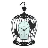 Janya Design Wrought Iron Wall Clock Bird Cage | Buy Top ...