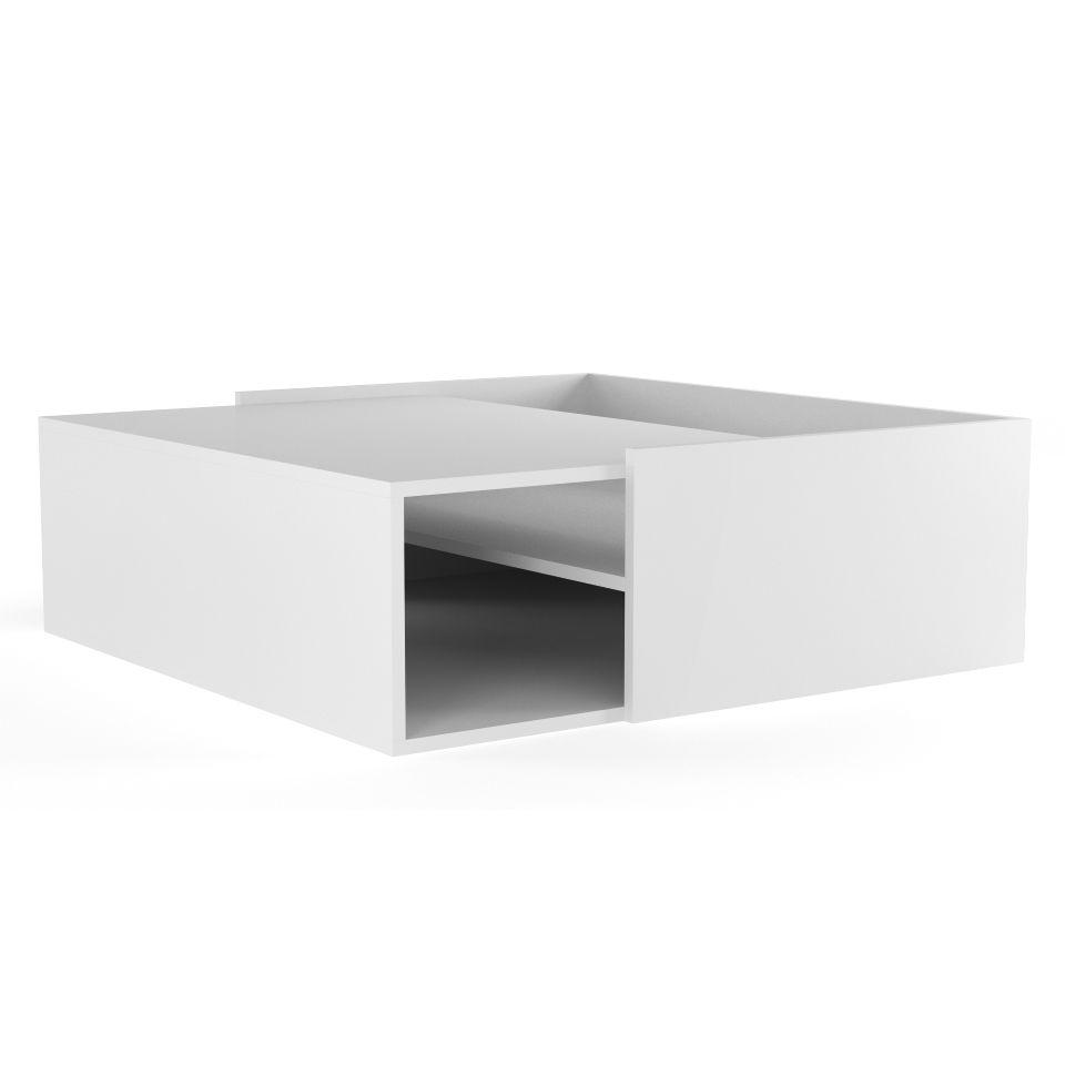 Minimalist Cube Design Coffee Table