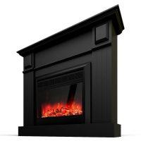 Grace Mantel Electric Fireplace Heater Black 1600W | Buy ...