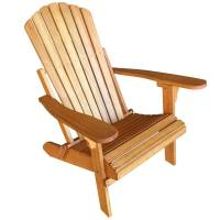 Eucalyptus Wooden Adirondack Sun Lounge Chair | Buy ...