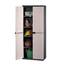 Keter 4 Shelf Plastic Storage Cabinet Cupboard | Buy Click ...