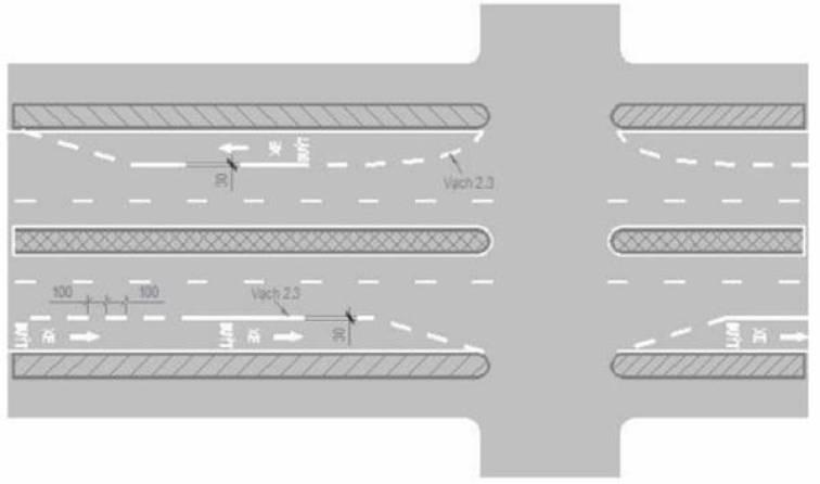 Chính sách - Quy chuẩn mới, 8 vạch kẻ đường tài xế cần lưu ý để không bị phạt (Hình 9).