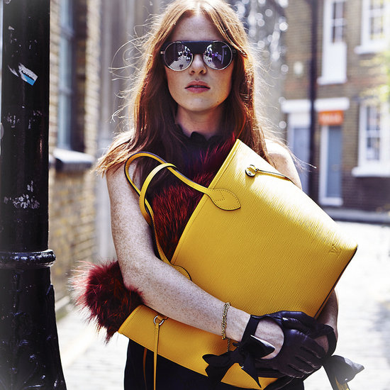 Louis Vuitton Neverfull 2013 Campaign Images