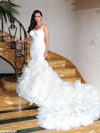 Kim Kardashian Wedding Pictures With Kris Humphries ...