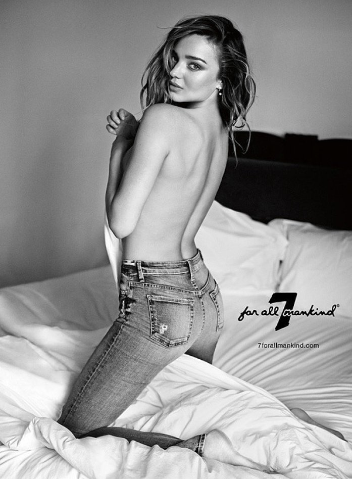 Miranda Kerr's Sexy New Ad Campaign Popped Up at the Perfect Time